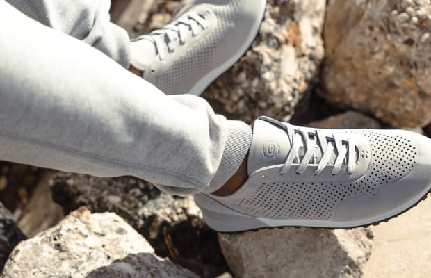 Greats' PerforatedLeather Sneakers Will Keep You Cool All Summer Song
