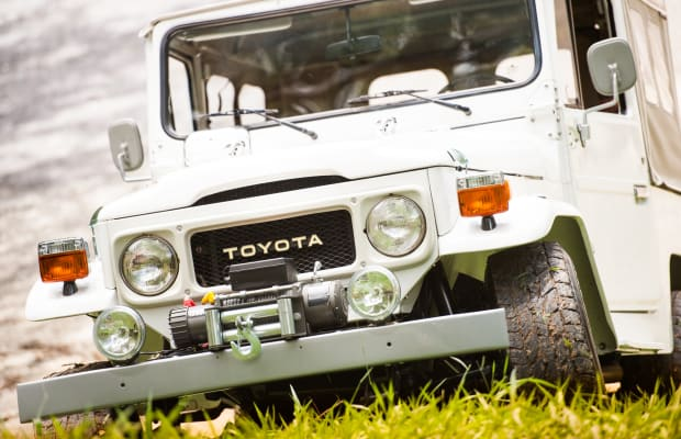 This Vintage FJ40 Land Cruiser Is Looking for a New Home