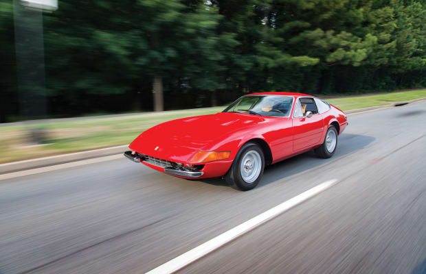 Feast Your Eyes on a Sizzling 1972 Ferrari 365 GTB/4 'Daytona'