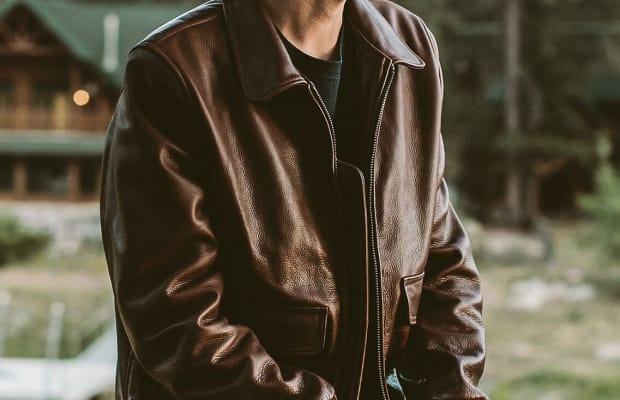 This Leather Jacket Combines Vintage Looks with Modern Details and Serious Style Chops