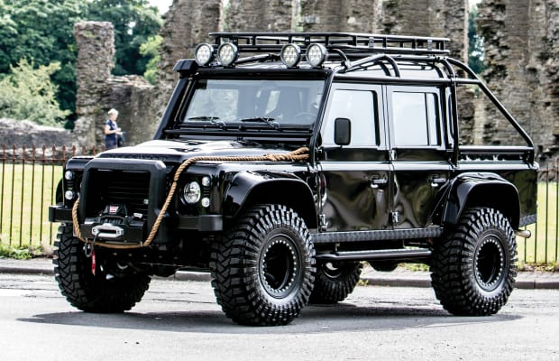 The Custom Land Rover Defender SVX From 'Spectre' Is For Sale