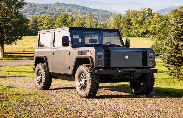 The World's First All Electric Sport Utility Truck Oozes Cool