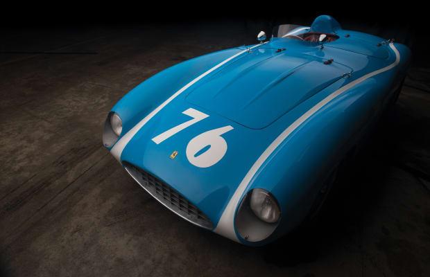 Car Porn: 1955 Ferrari 121 LM Spider