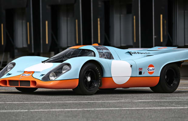 Here's What the $14 Million Steve McQueen 1970 Porsche 917k Sounds Like on the Track