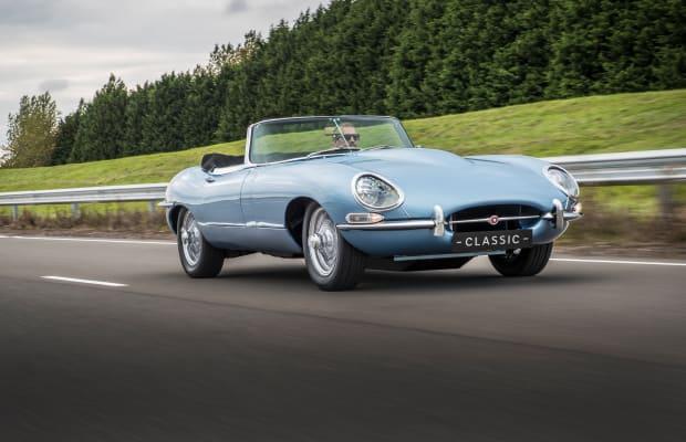 Jaguar Debuts Achingly Beautiful All-Electric E-type