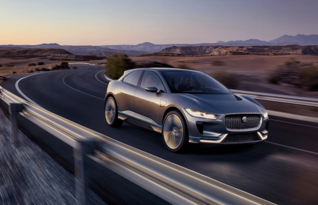 Jaguar's First All-Electric Ride Is Both Sleek and Sexy
