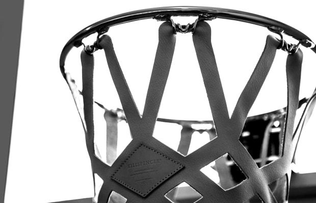 KILLSPENCER Gives Its Indoor Basketball Kit a Shattered Glass Backboard