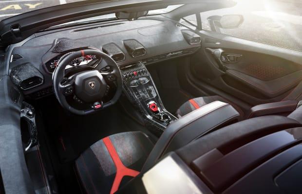The Lamborghini Huracan Performante Spyder Is a Topless Tasmanian Devil