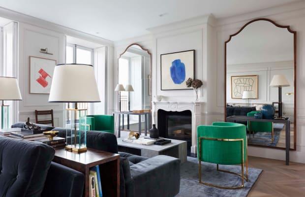 Inside a Stunning London Penthouse