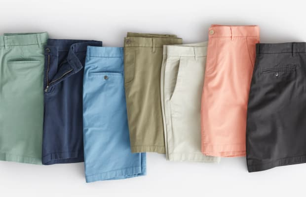 Classic, Cool & Priced to Sell: Everlane's Chino Shorts Have It All