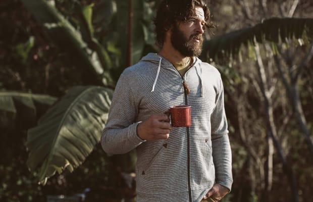 This Hemp Fleece Hoodie Is Made for Relaxing
