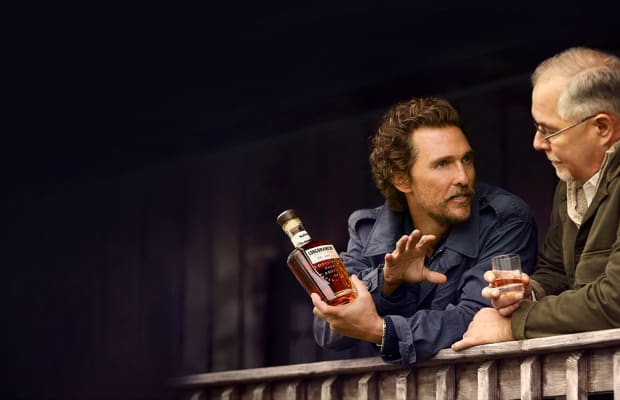 Matthew McConaughey Launches His Own Small Batch Bourbon