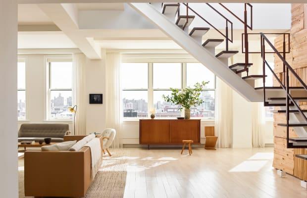 Step Inside a Super-Stylish SoHo Penthouse