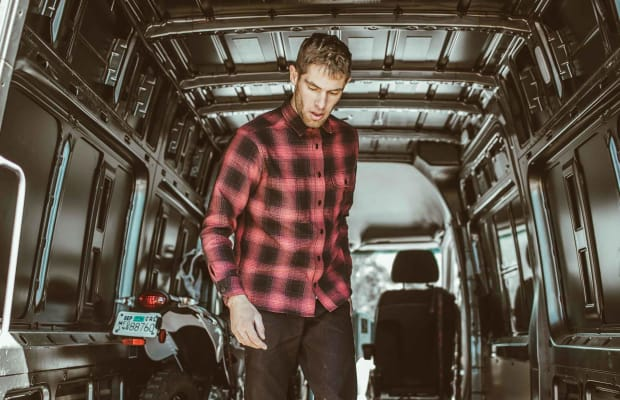 Taylor Stitch's Motorcycle-Inspired Plaid Shirts Are the Essence of Rugged Elegance