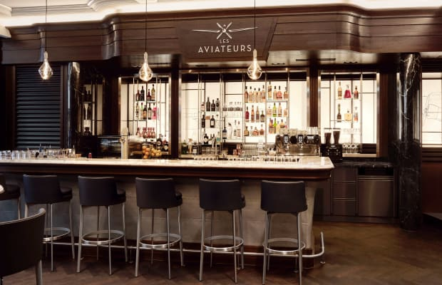 IWC Opens Gorgeous Aviation-Inspired Whiskey Bar