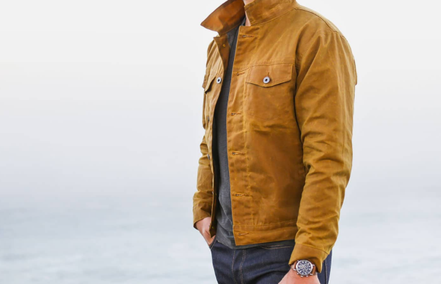 This Waxed Trucker Jacket Is Tough, Timeless, and Made in the USA