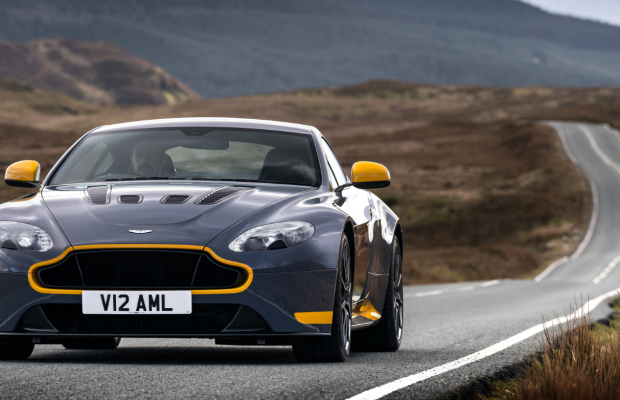 Glorious Footage of an Aston Martin V12 Vantage S Tearing Up Scotland