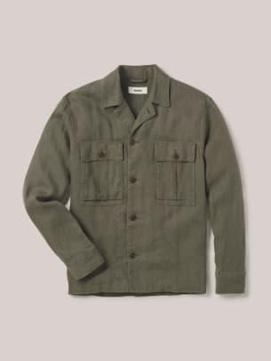 Buck_Mason_Loomed_Linen_Fatigue_Shirt_01