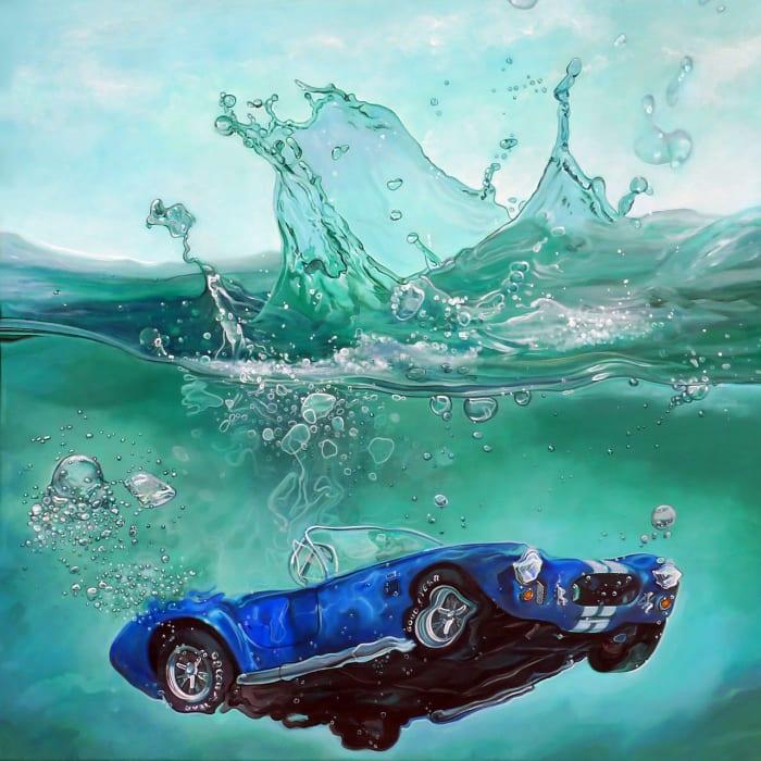 Gorgeous Hyperrealistic Paintings Of Vintage Cars