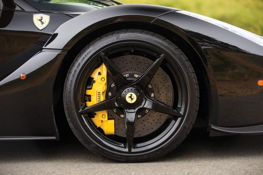 Car Porn All-Black-Everything Ferrari Laferrari - Airows-9912