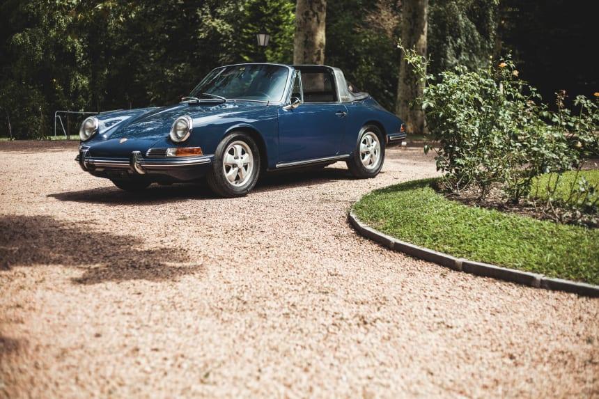 Car Porn 1967 Porsche 911 Soft-Window Targa - Airows-7129