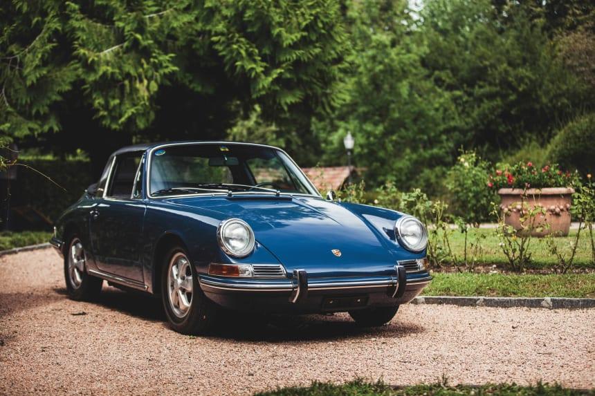 Car Porn 1967 Porsche 911 Soft-Window Targa - Airows-1797