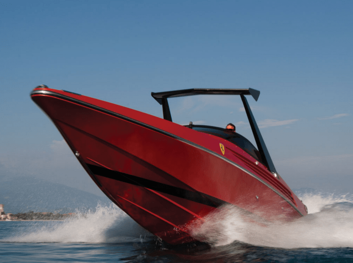 This Vintage Riva x Ferrari Power Boat Is As Good As It Gets - Airows
