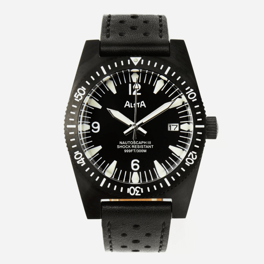 The Original 'Jaws' Watch Is Back in Black (And 20% Off)