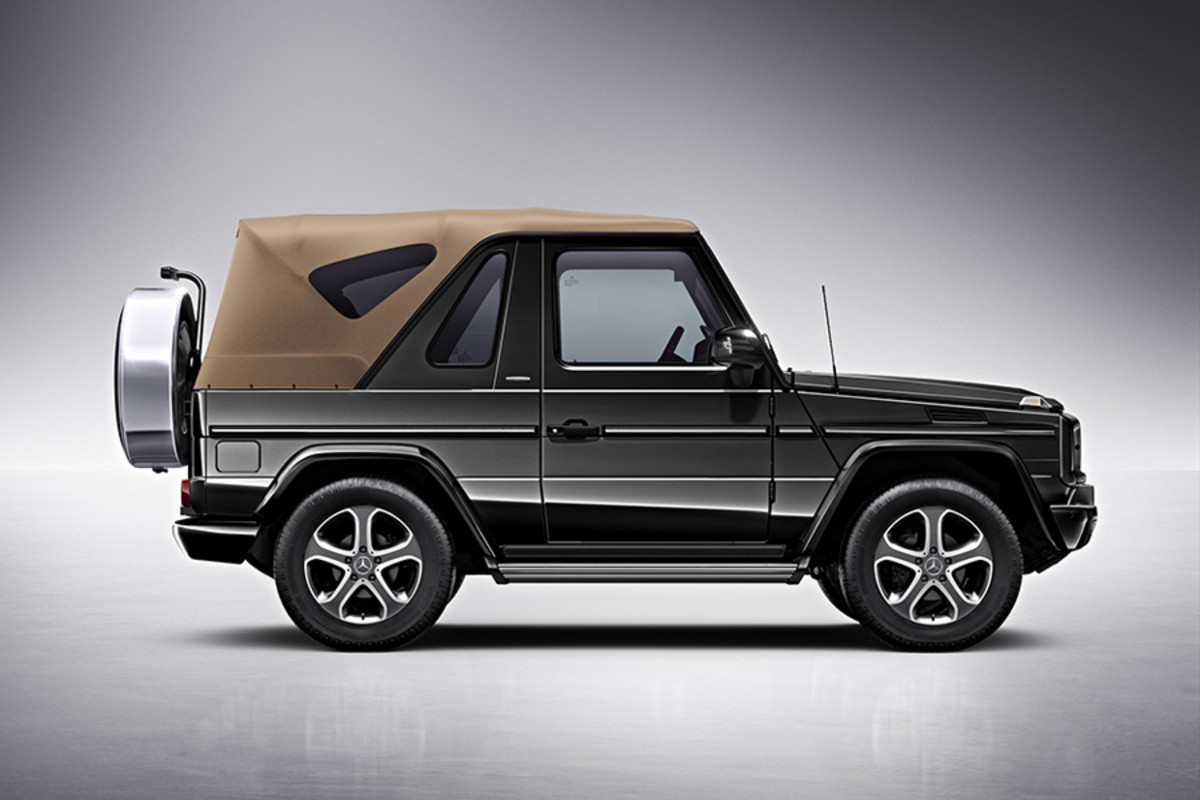Mercedes Benz G Class Cabriolet Final Edition Airows