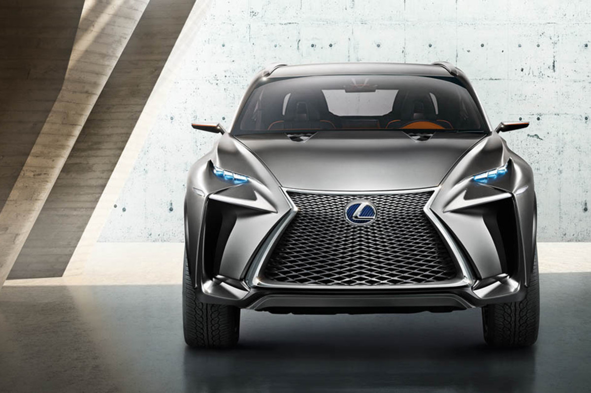 Planning On Making Its Public Debut At The Frankfurt Auto Show Next Week This Crossover Concept From Lexus Has Some Futuristic Stylings And A Very Unique