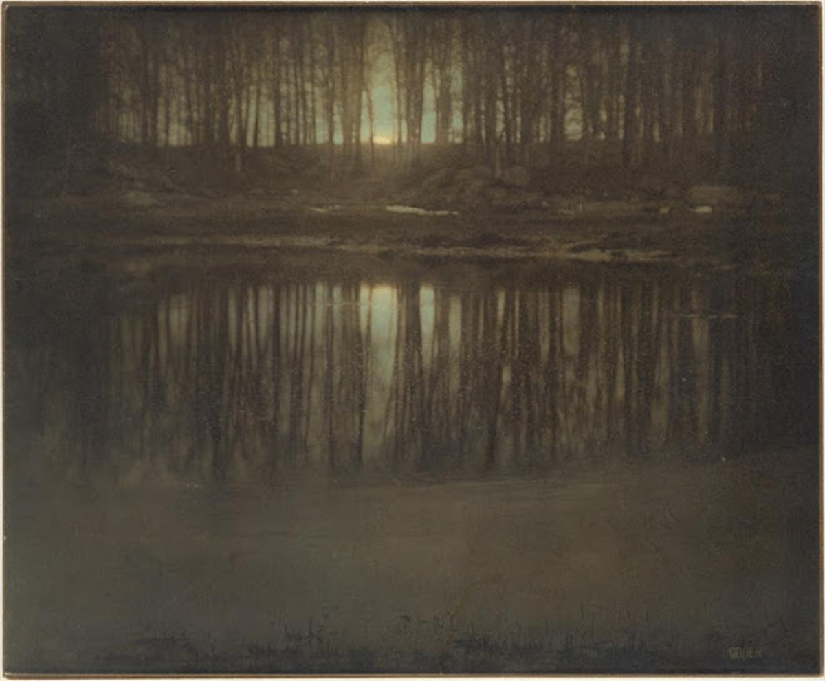 The Pond - Moonrise - Edward Steichen