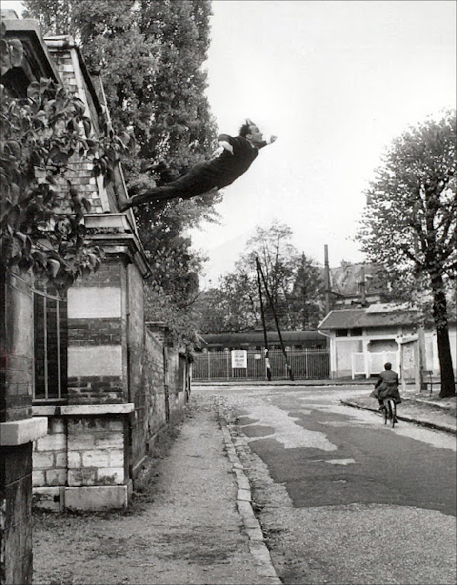 Leap into the Void-Yves Klein