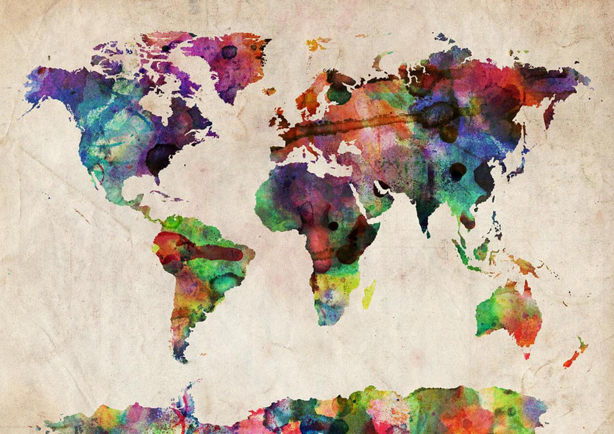 world-map-watercolor-michael-tompsett