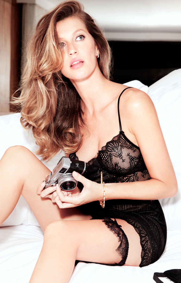 Gisele Bundchen's Line of Lingerie Is As Sexy As You'd Expect