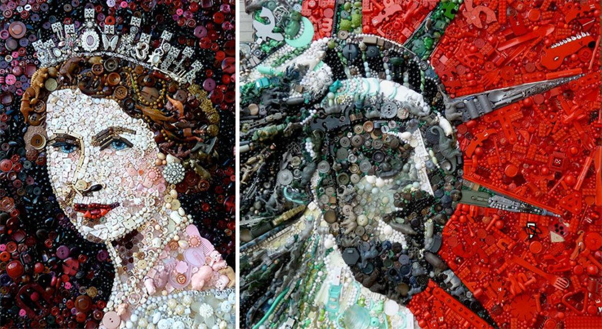 plastic-classics-found-objects-famous-portraits-jane-perkins-13