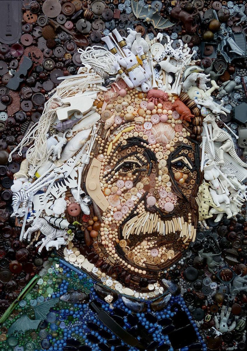 plastic-classics-found-objects-famous-portraits-jane-perkins-4