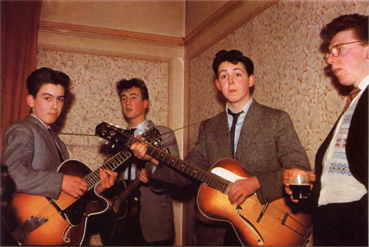 beatles-young-before-famous-childhood-picture