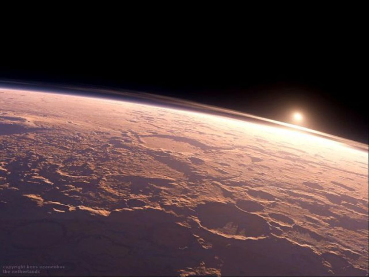 This Is What The Sunrise Looks Like On Mars Airows - Sunrise looks like mars