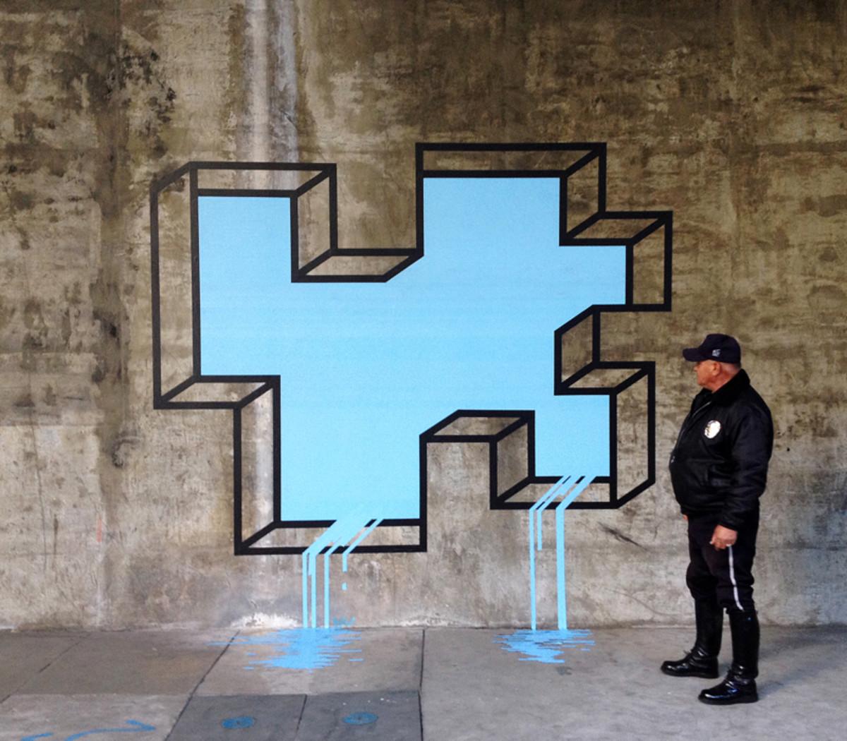 """L.A. Leaker"" by Aakash Nihalani"