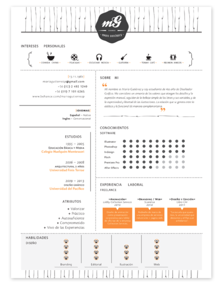 Awesome Resume resume template 2016 Screen Shot 2014 05 26 At 22841 Pm
