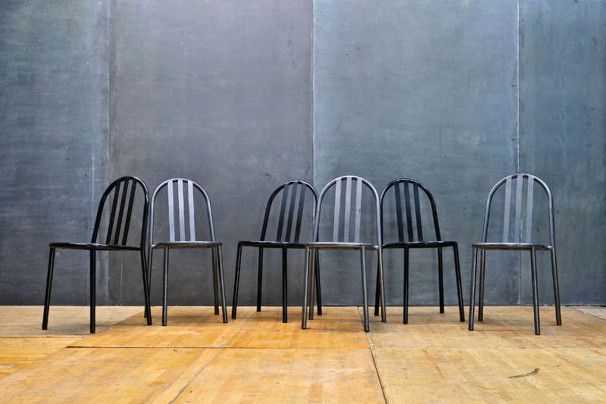 french-industrial-mallet-stevens-chairs
