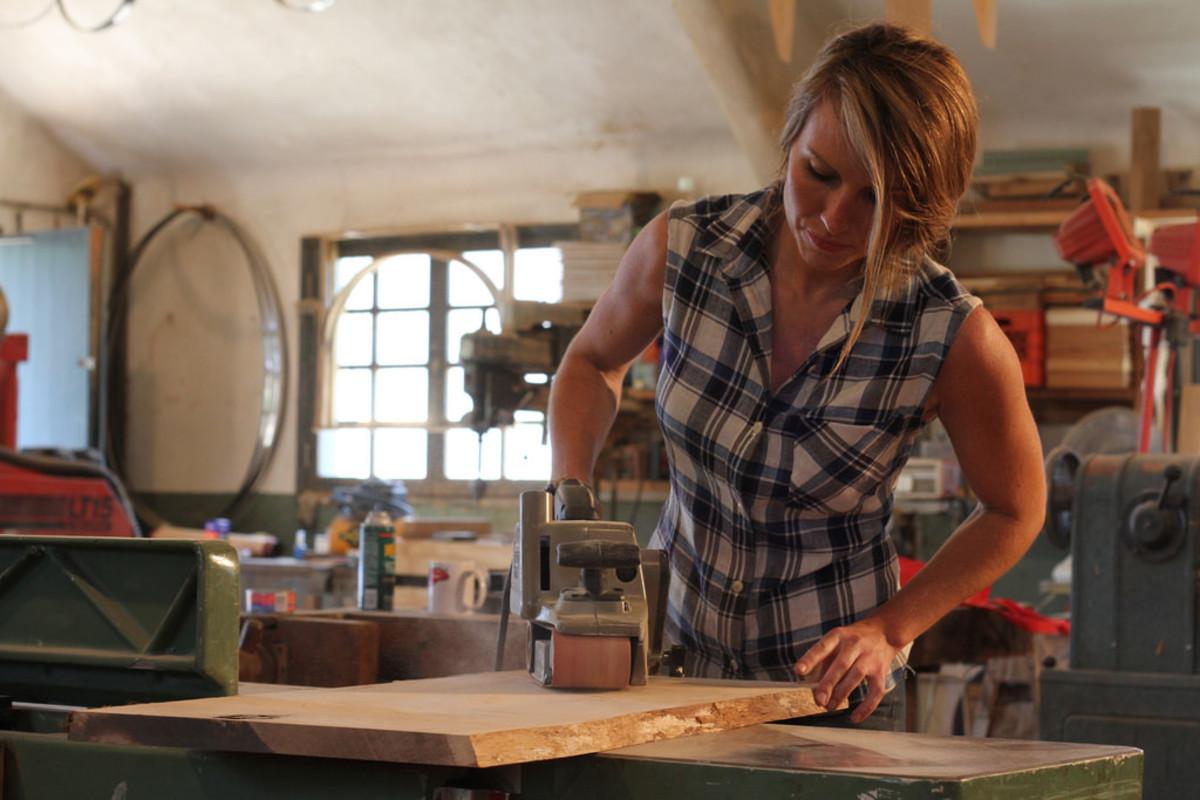 Greta in Workshop