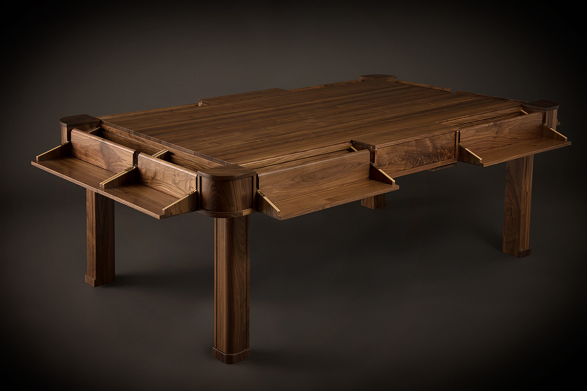 an incredibly cool table designed for board game playing - airows