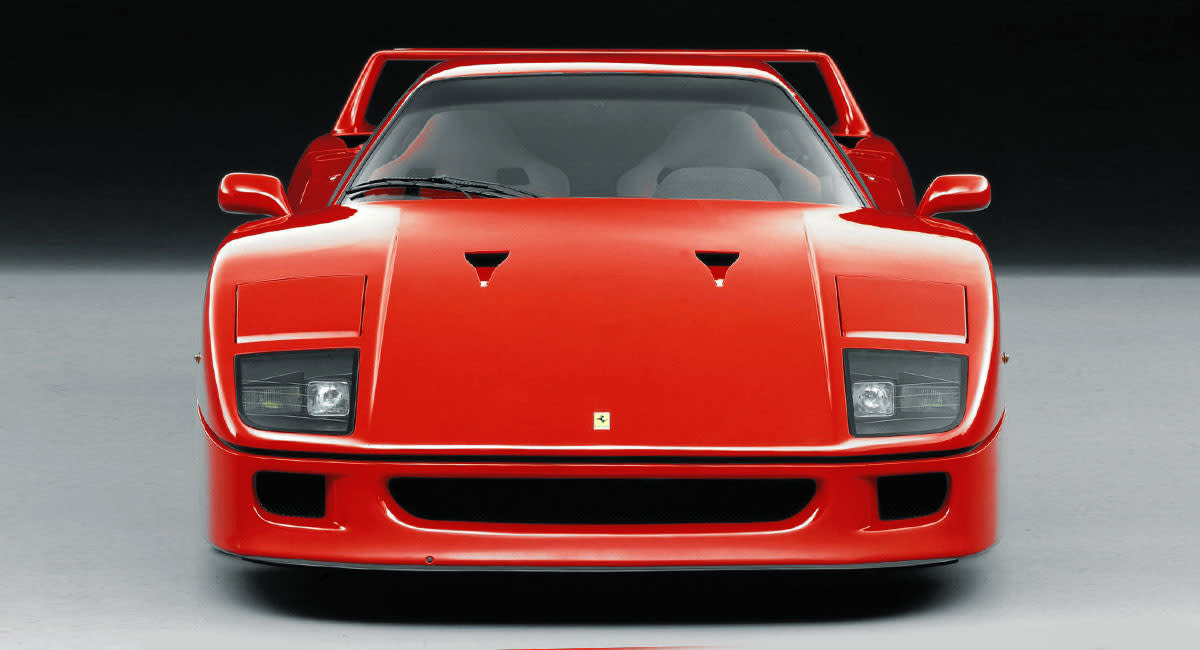 Ferrari-F40-front