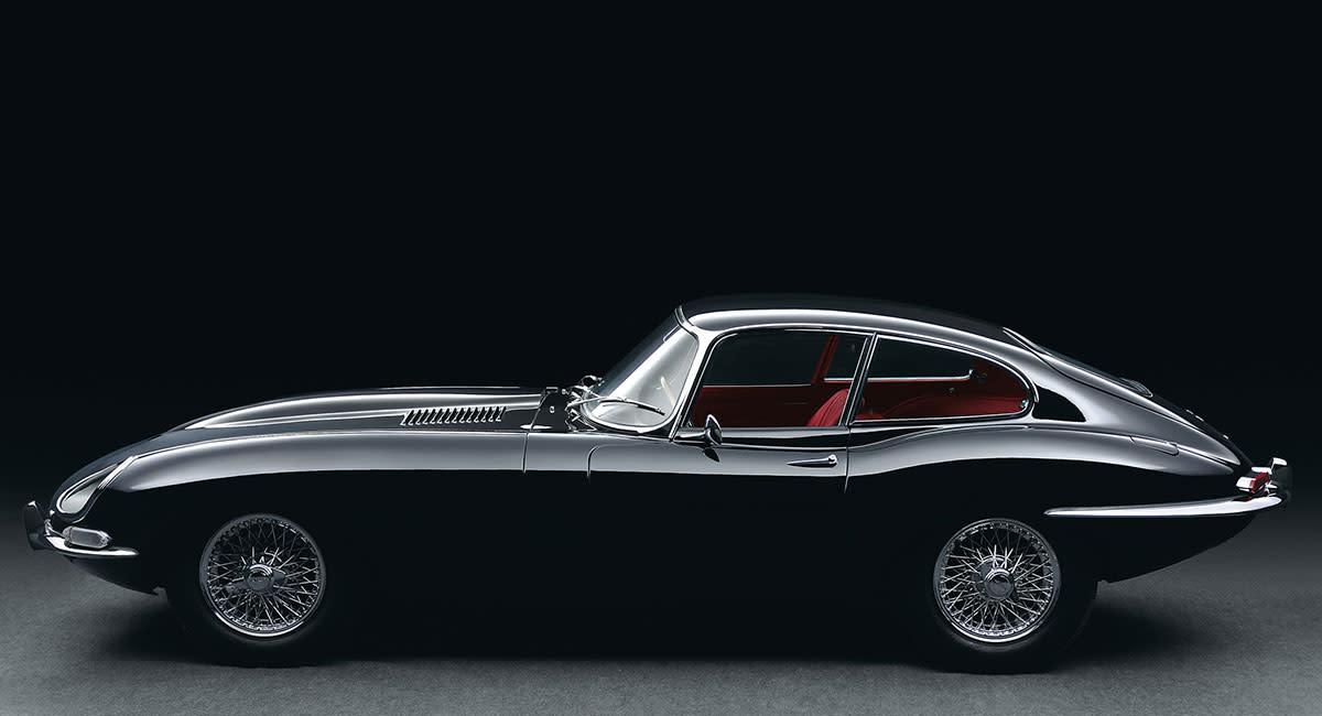 Jaguar-e-type-side
