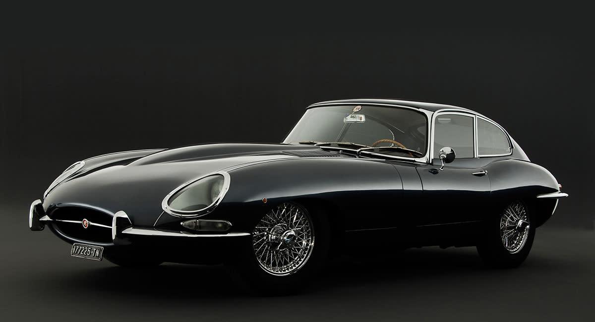 Jaguar-e-type-front
