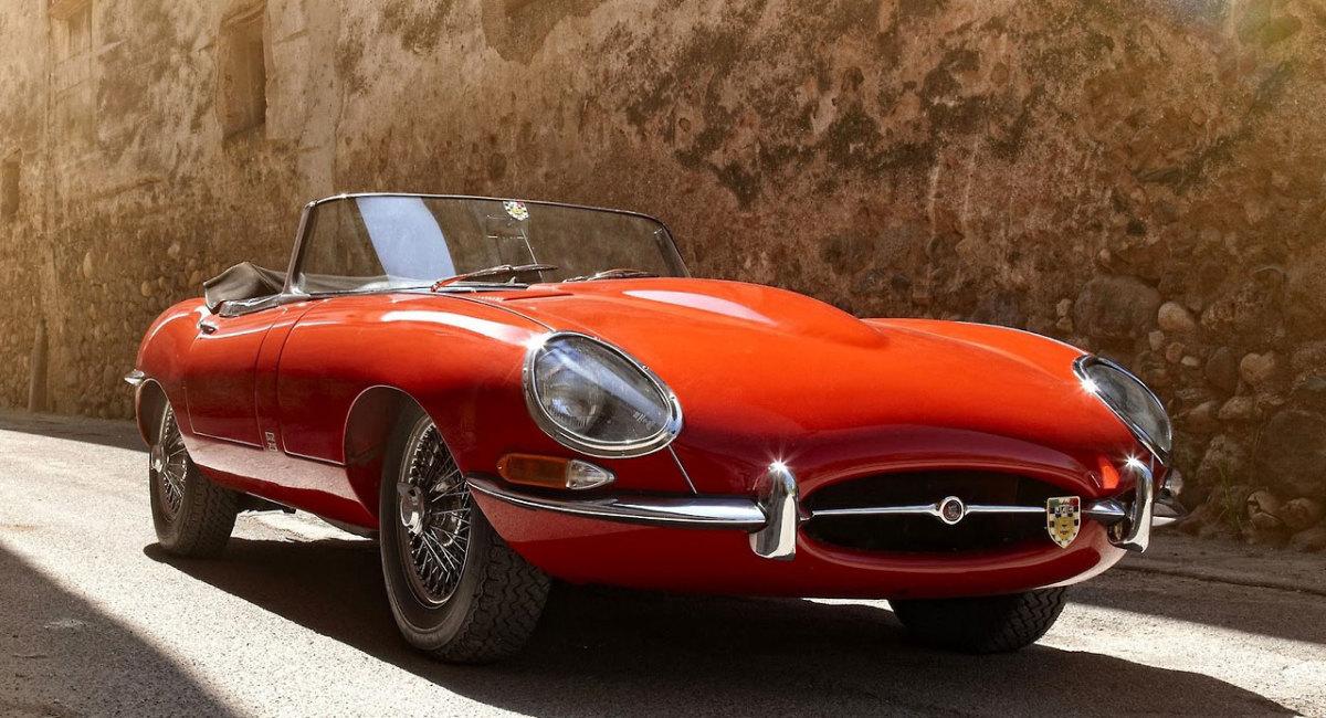 Jaguar-e-type-front-red