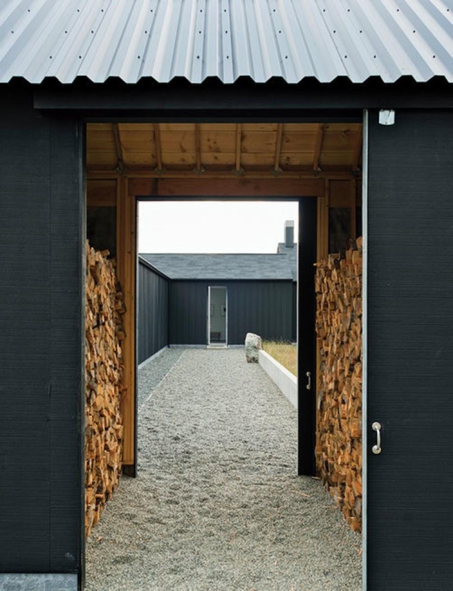 art-life-gravel-path-front-door-firewood-storage