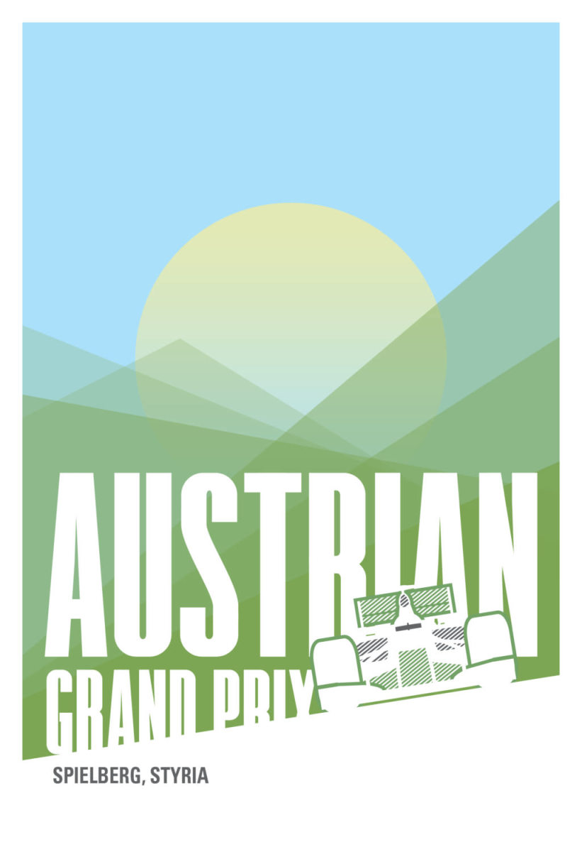 Austrian-F1-Poster