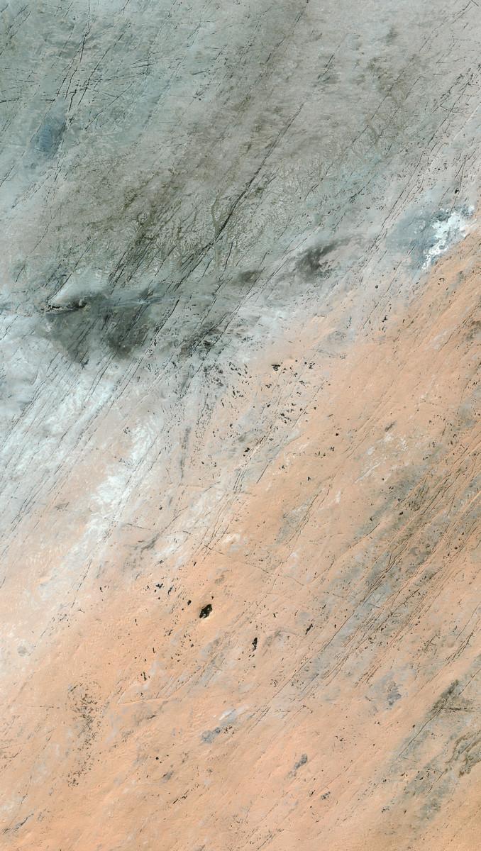 r1235_39_satellite_image_spot5_2.5m_akchar_mauritania_2004